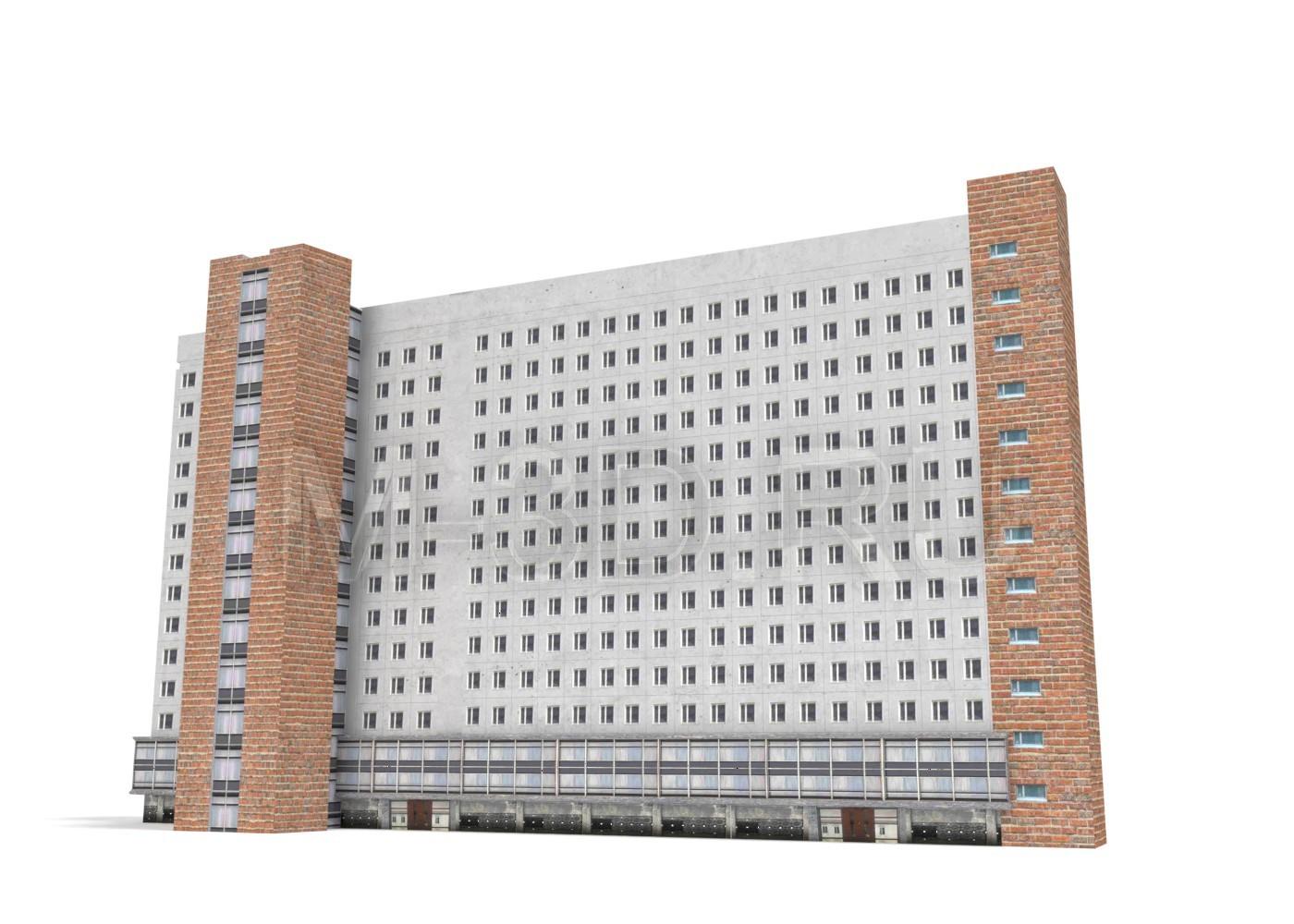 Здание 3D модель