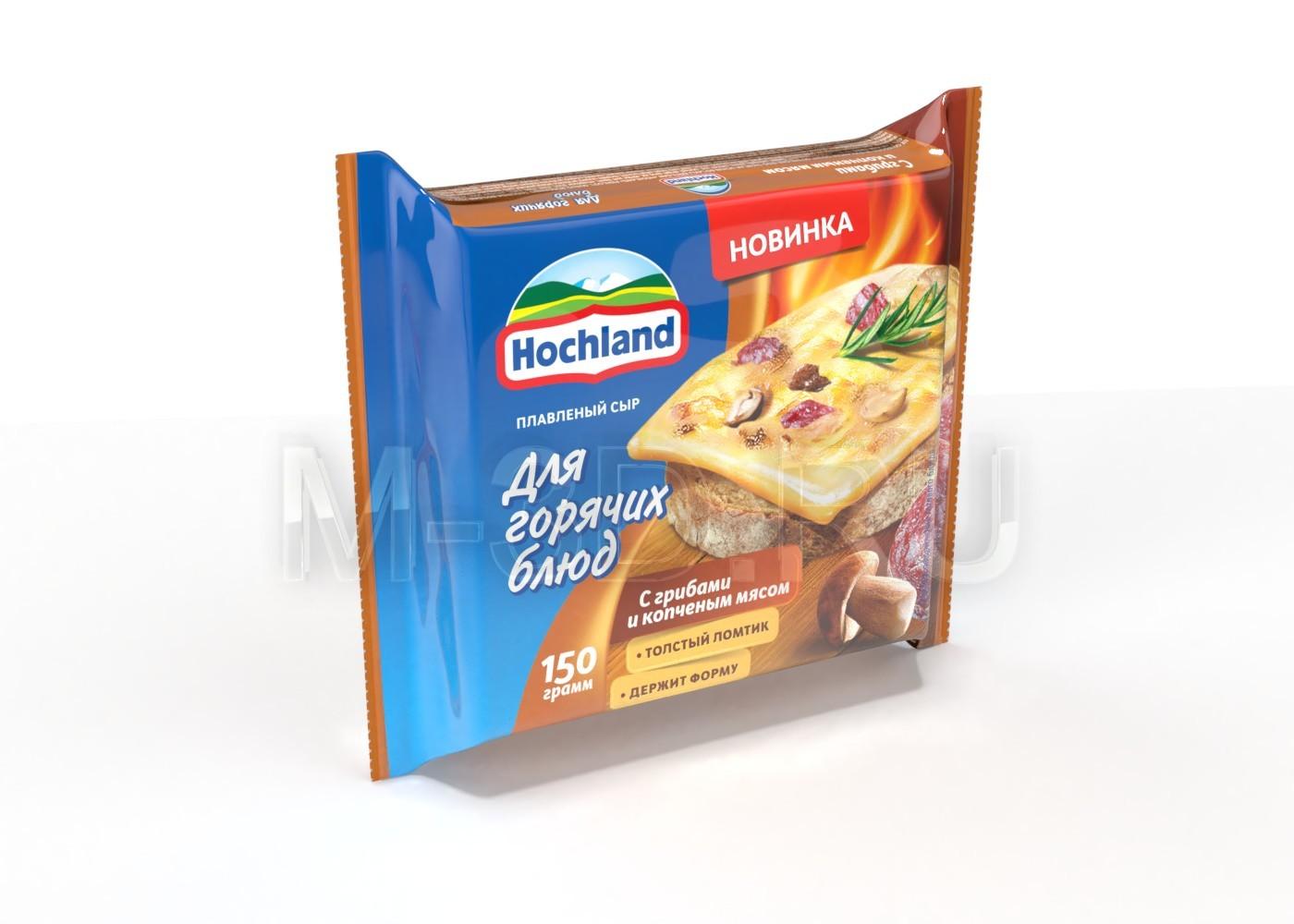 упаковка сыр Hochland
