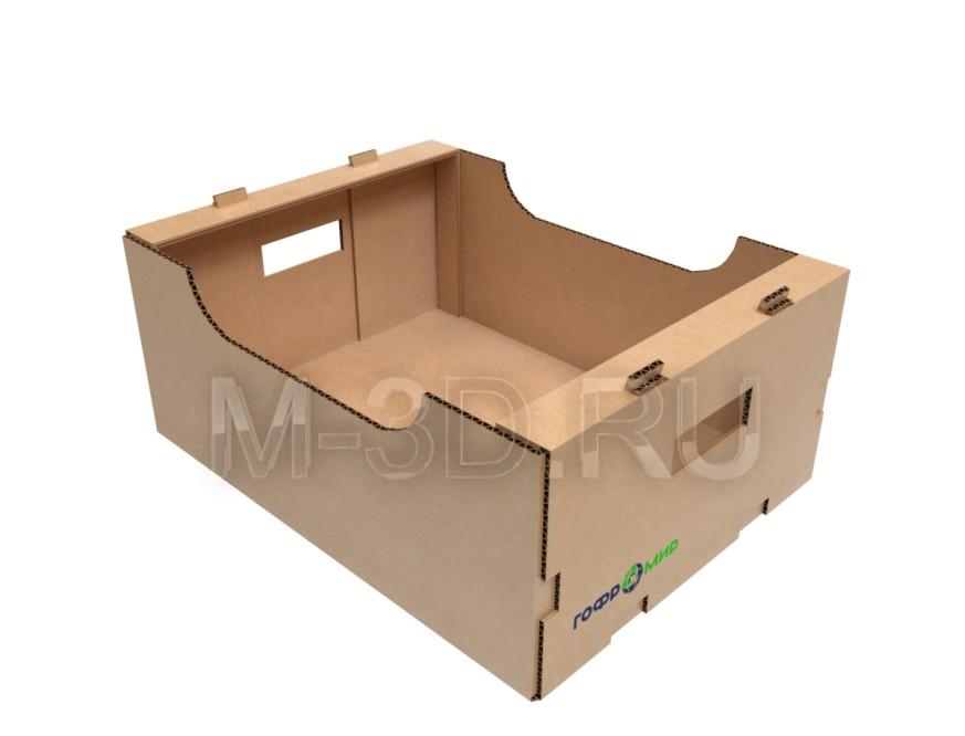 коробка для овощей картонная