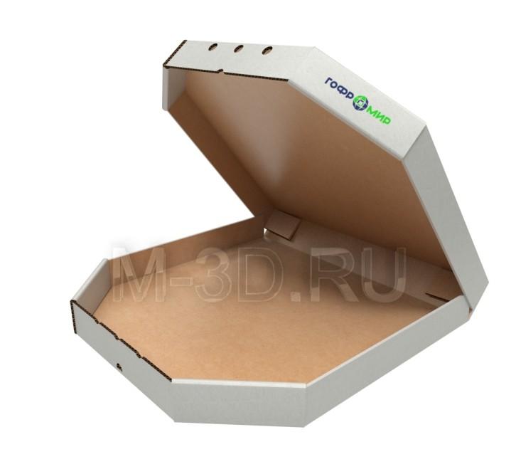 коробка для пиццы картонная
