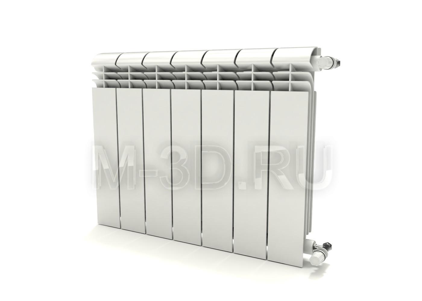 Радиатор отопления секционный алюминиевый