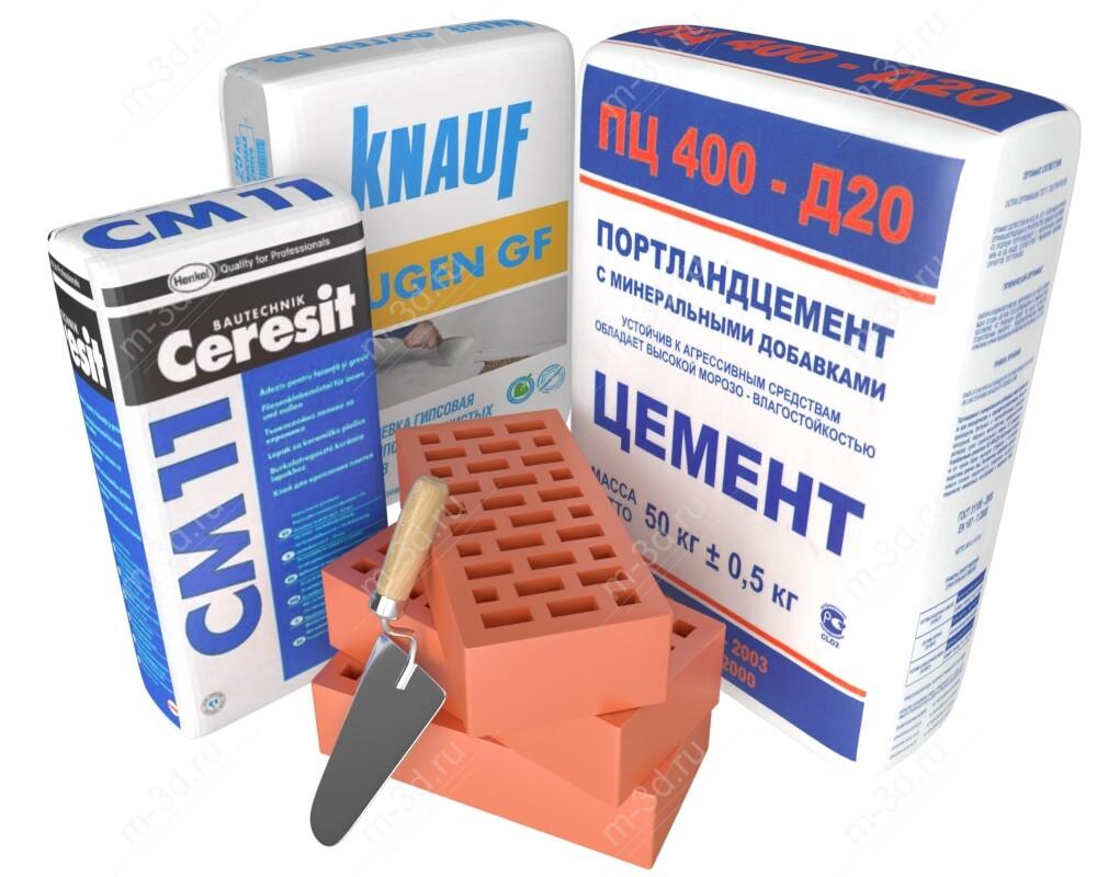 Цемент штукатурка